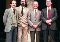 Nei giorni 22 , 23 e 24 ottobre 1982 Schilder ha tenuto un nuovo corso di aggiornamento a Bassano del Grappa. Nella foto, da sinistra Arnaldo Castellucci, Gianfranco Vignoletti, Herbert Schilder e Giorgio Lavagnoli fotografati all'ingresso della splendida sede in cui il corso ha avuto luogo.